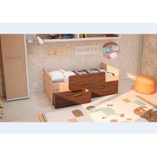 Детская кровать Умка-1 ЛДСП с ограничителем