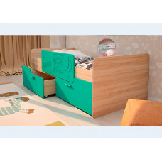 Детская кровать Умка-2 МДФ с ограничителем