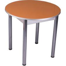 Стол обеденный Техно круглый оранж