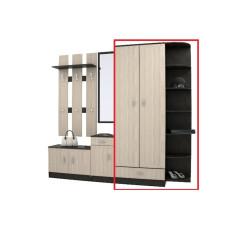 Шкаф с угловым завершением из модульной прихожей 07