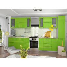 Кухня OLI зеленая 3100мм