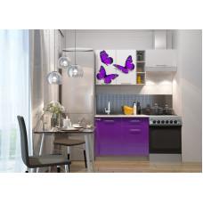 Кухня Олива мини 1.6м Бабочки