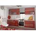 Кухня OLI красная 2.5 метра