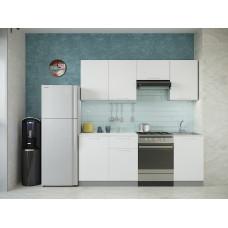 Кухня Oli белый глянец 2,1м