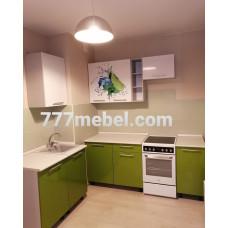 Кухня OLI 1,9*1,0м с фотопечатью