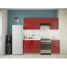 Кухня Oli рубин глянец 2,1м