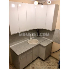 Кухня OLI 1,6*0,9м с высокими шкафами