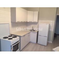 Кухня OLI белый металлик 1,8*1,0м