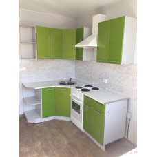Кухня OLI зеленый металлик 1450*1450мм