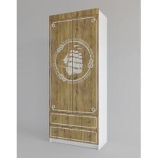 Шкаф платяной ЮНГА с ящиками