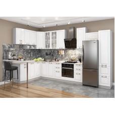 Кухня Гарда с высокими шкафами 3,8*1,6м