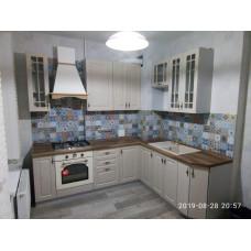 Кухня Гранд 1,9*2,0м с высокими шкафами