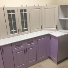 Кухня Гранд крем/фиалка 2000х600мм