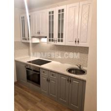 Кухня Гранд 2400мм с высокими шкафами
