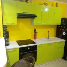 Кухня Капля лайм 2300мм