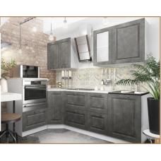 Кухня Капри камень темный 1450*2350мм