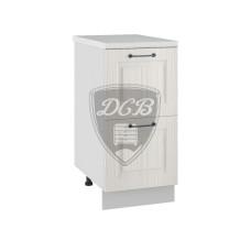 Шкаф нижний Капри 400 2 больших ящика