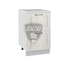 Шкаф нижний Капри 500 2 больших ящика