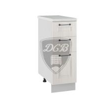 Шкаф нижний Капри 300 3 ящика
