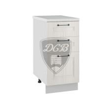 Шкаф нижний Капри 400 3 ящика