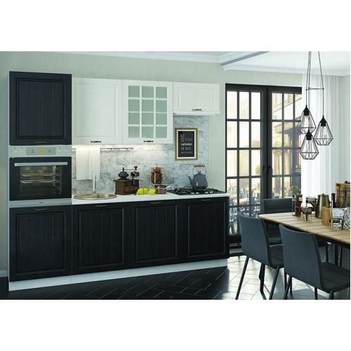 Кухня Вена 03 Белое дерево Венге от фабрики МебельДаром | 500x500