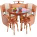 Кухонный уголок Мария-7 мини с круглым столом