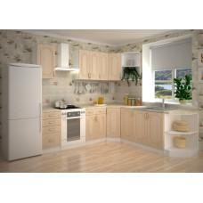 Кухня Жасмин угловая 2550х2350мм