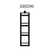 Шкаф верхний Маша 200мм