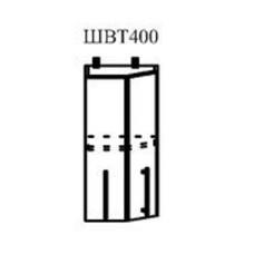 Шкаф верхний Маша торцевой 400мм