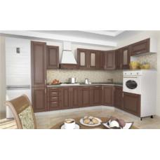 Кухня Верона МДФ (Орех Гварнери) 3150х1850мм